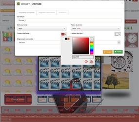 Créez vos interfaces d'affichage dynamique multi-zones en quelques clics depuis votre navigateur